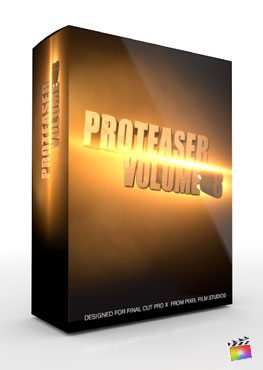 Final Cut Pro X Plugin Proteaser Volume 8 from Pixel Film Studios