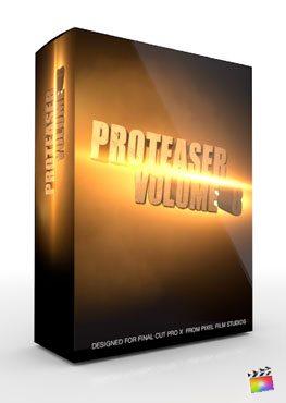Final Cut Pro X Plugin Proteaser Volume 8 from Pixel Film Studios