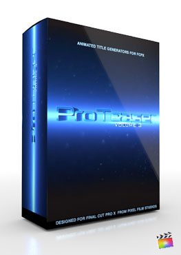 Final Cut Pro X Plugin Proteaser Volume 3 from Pixel Film Studios