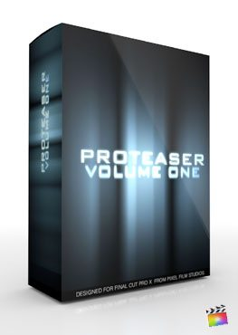 Final Cut Pro X Plugin Proteaser Volume 1 from Pixel Film Studios