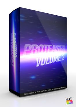 Final Cut Pro X Plugin Proteaser Volume 2 from Pixel Film Studios