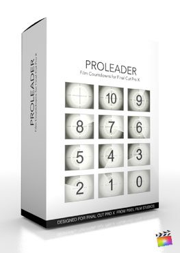 Final Cut Pro X Plugin ProLeader from Pixel Film Studios