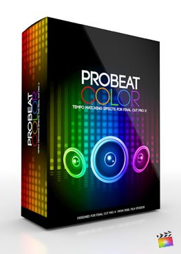 Final Cut Pro X Plugin ProBeat Color from Pixel Film Studios