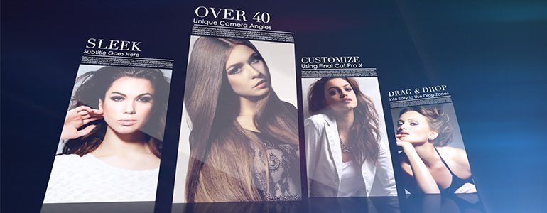 Professional - Fashion Themes for Final Cut Pro X