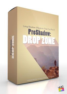 Final Cut Pro X Plugin ProShadow Drop Zone from Pixel Film Studios