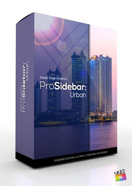 Final Cut Pro X Plugin ProSidebar Urban from Pixel Film Studios