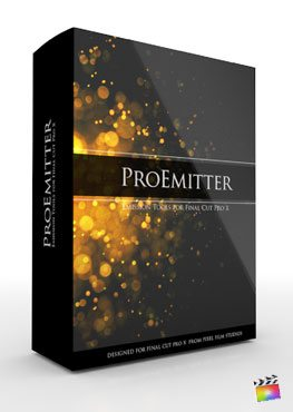 Final Cut Pro X Plugin ProEmitter from Pixel Film Studios