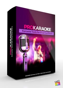 Final Cut Pro X Plugin ProKaraoke from Pixel Film Studios
