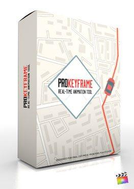 Final Cut Pro X Plugin ProKeyframe from Pixel Film Studios