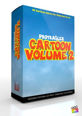 Final Cut Pro X Plugin ProTrailer Cartoon Volume 2 from Pixel Film Studios