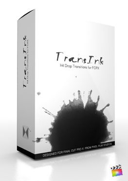 Final Cut Pro X Plugin TransInk from Pixel Film Studios