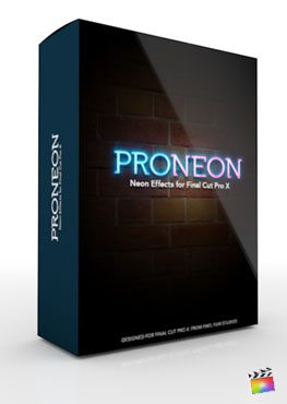 Final Cut Pro X Plugin ProNeon from Pixel Film Studios