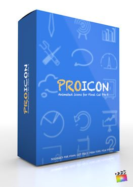 Final Cut Pro X Plugin ProIcon from Pixel Film Studios