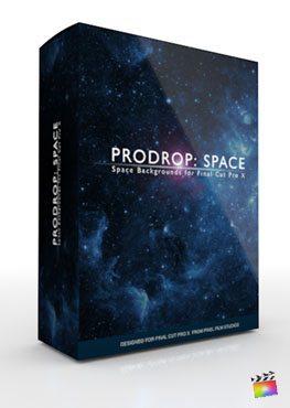 Final Cut Pro X Plugin ProDrop Space from Pixel Film Studios