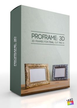 Final Cut Pro X Plugin ProFrame 3d from Pixel Film Studios