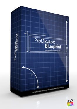 Final Cut Pro X Plugin ProDicator Blueprint from Pixel Film Studios