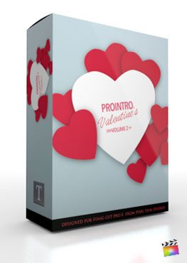 Final Cut Pro X Plugin ProIntro Valentines Volume 2 from Pixel Film Studios