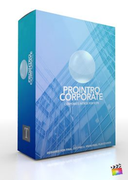 Final Cut Pro X Plugin ProIntro Corporate from Pixel Film Studios