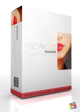 Final Cut Pro X Plugin ProIntro Fashion from Pixel Film Studios