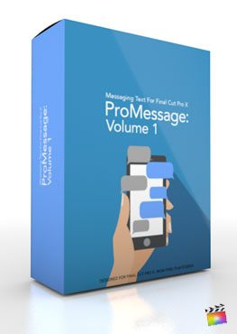 Final Cut Pro X Plugin ProMessage Volume 1 from Pixel Film Studios