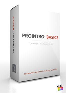 Final Cut Pro X Plugin ProIntro Basics from Pixel Film Studios