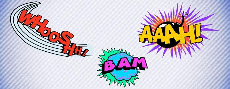 Professional - Comic Hit Titles for Final Cut Pro X - for Final Cut Pro X