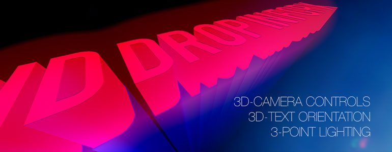 Professional - 3D Text Plugin for Final Cut Pro X - for Final Cut Pro X