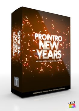 Final Cut Pro X Plugin ProIntro New Years from Pixel Film Studios