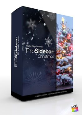 Final Cut Pro X Plugin ProSidebar Christmas from Pixel Film Studios
