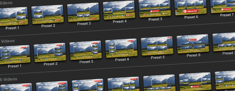Pixel Film Studios – ProTube Outro for Mac 1.0 激活版 – FCPX插件:社交网络视频结尾定版屏幕模板插件-爱情守望者