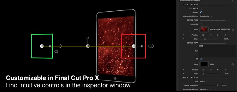 Professional - Generated 3D Models for Final Cut Pro X