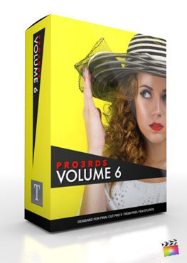 Final Cut Pro X Plugin Pro3rd Volume 6 from Pixel Film Studios