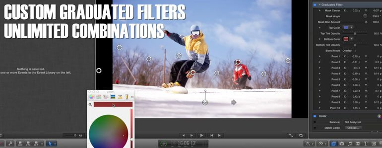 Professional - Cinematic Lens Tools for Final Cut Pro X