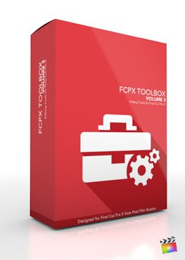Final Cut Pro X Plugin FCPX Toolbox Volume 3 from Pixel Film Studios