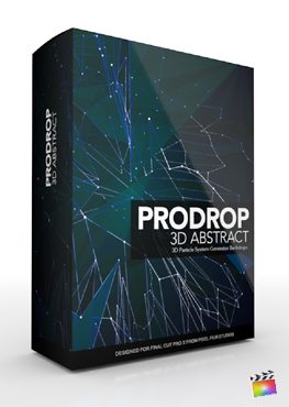 Final Cut Pro X Plugin ProDrop 3d Abstract from Pixel Film Studios