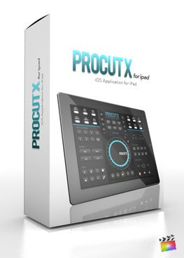 Final Cut Pro X App iOs Application ProCutX for Ipad from Pixel Film Studios