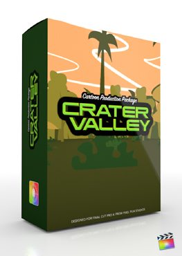 Final Cut Pro X Plugin Production Package Crater Valley from Pixel Film Studios