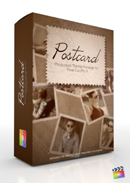 Final Cut Pro X Plugin Production Package Postcard from Pixel Film Studios