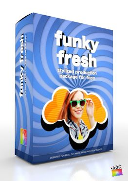 Final Cut Pro X Plugin Production Package Funky Fresh from Pixel Film Studios