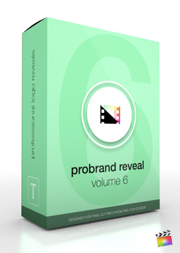 Final Cut Pro X Plugin ProBrand Reveal Volume 6 from Pixel Film Studios