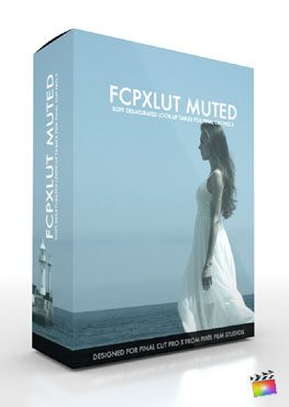 Final Cut Pro X Plugin FCPX LUT Muted from Pixel Film Studios