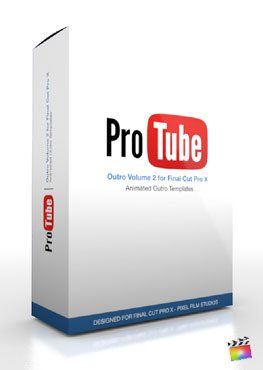 Final Cut Pro X Plugin ProTube Outro Volume 2 from Pixel Film Studios