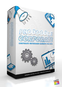 Final Cut Pro X Plugin ProDoodle Corporate from Pixel Film Studios