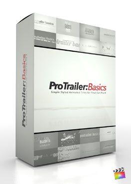 Final Cut Pro X Plugin ProTrailer Basics from Pixel Film Studios