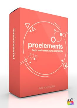 Final Cut Pro X Plugin Production Package ProElements from Pixel Film Studios