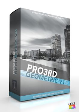 Final Cut Pro X Plugin Pro3rd Geometric from Pixel Film Studios
