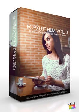 FCPX LUT Film Volume 3