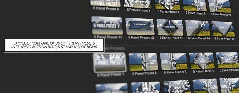 Professional - Final Cut Pro X Plugin ProSlice Geometric