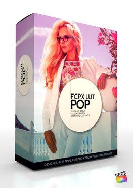 FCPX LUT Pop