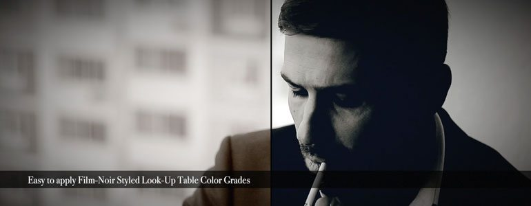 FCPX LUT Noir - Film Noir Color Grades for Final Cut Pro X -from Pixel Film Studios